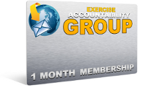 FREE Bonus #4: All Access One Month Membership In My Exercise Accountability Group  ($14/Month Value)